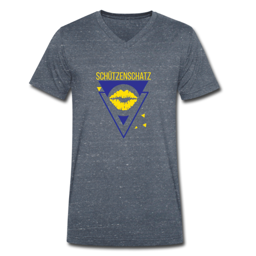 Schützenschatz - Männer Bio-T-Shirt mit V-Ausschnitt von Stanley & Stella