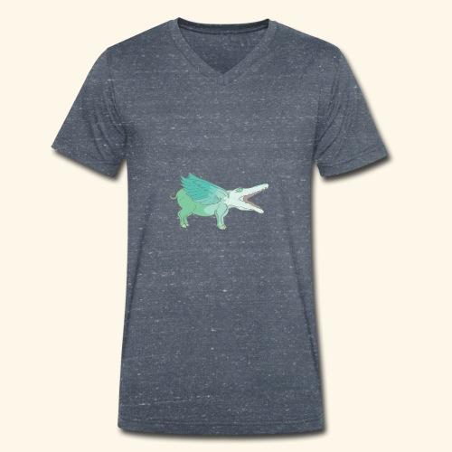 krovo - Mannen bio T-shirt met V-hals van Stanley & Stella