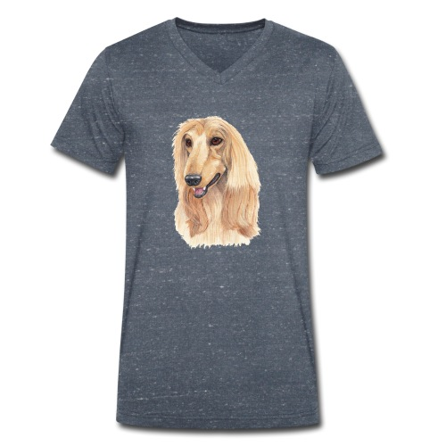 afghanskMynde- A - Økologisk Stanley & Stella T-shirt med V-udskæring til herrer
