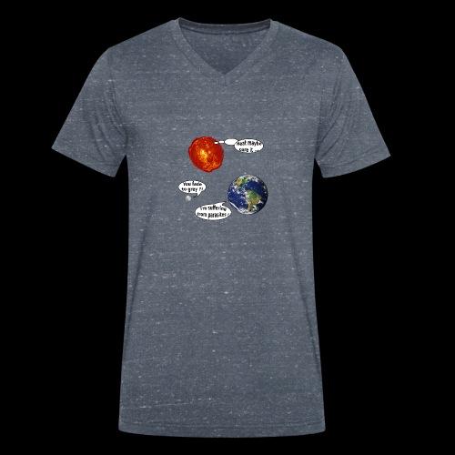 mg suffering planet - Männer Bio-T-Shirt mit V-Ausschnitt von Stanley & Stella