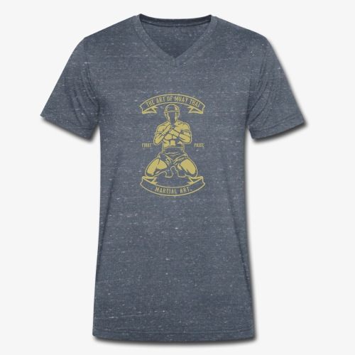 Art du muay thai - T-shirt bio col V Stanley & Stella Homme
