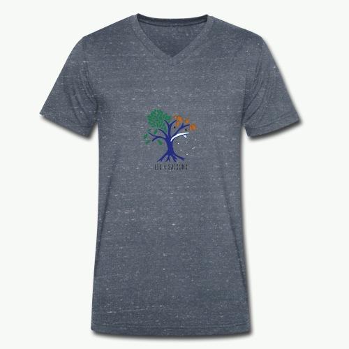 Les 4 saisons - T-shirt bio col V Stanley & Stella Homme