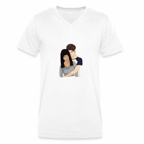 Vheronica + Lan - Männer Bio-T-Shirt mit V-Ausschnitt von Stanley & Stella