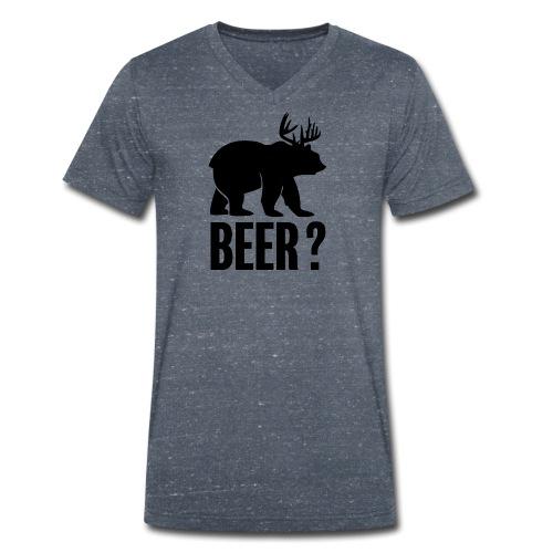 Beer - T-shirt bio col V Stanley & Stella Homme