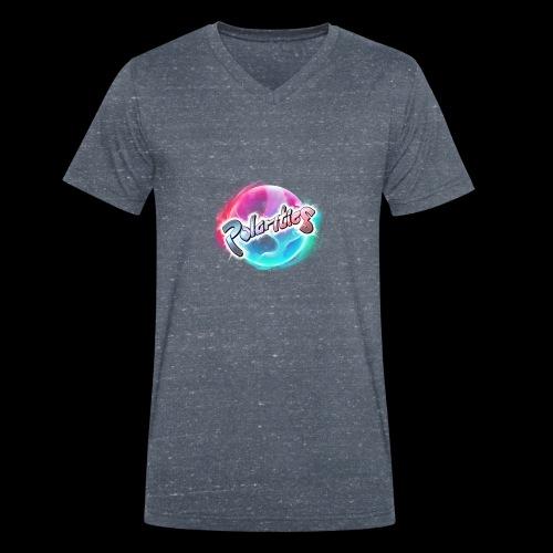 Polarities Logo - Men's Organic V-Neck T-Shirt by Stanley & Stella