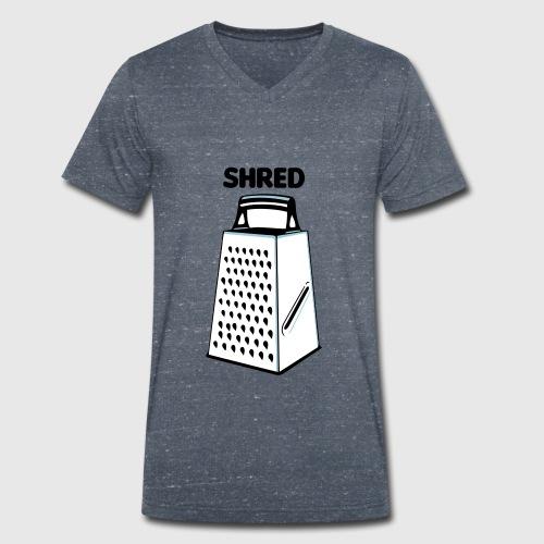 Shred - Men's Organic V-Neck T-Shirt by Stanley & Stella