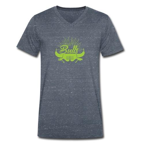 Toros verdes, Bulls BasketBall deporte - Camiseta ecológica hombre con cuello de pico de Stanley & Stella