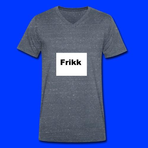 Frikk - Økologisk T-skjorte med V-hals for menn fra Stanley & Stella
