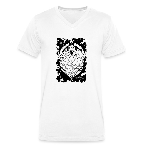 Galactic Stranger - Comics Design - T-shirt bio col V Stanley & Stella Homme