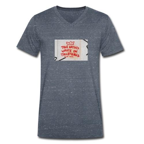 True Artists - Männer Bio-T-Shirt mit V-Ausschnitt von Stanley & Stella