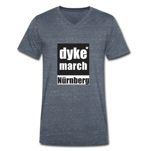 DYKE*MARCH STORE - Nürnberg - Männer Bio-T-Shirt mit V-Ausschnitt von Stanley & Stella