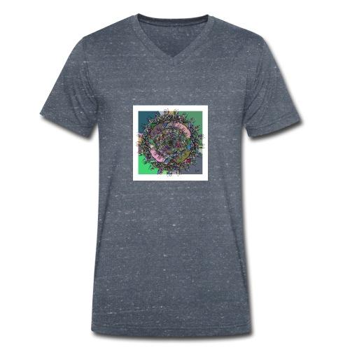 WorldAround 150220 ds. A + - Men's Organic V-Neck T-Shirt by Stanley & Stella