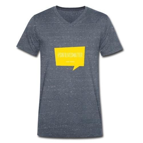 Sinti Lives Matter - Männer Bio-T-Shirt mit V-Ausschnitt von Stanley & Stella