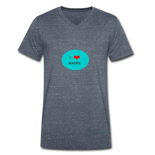 DIA DE LA MADRE - Camiseta ecológica hombre con cuello de pico de Stanley & Stella