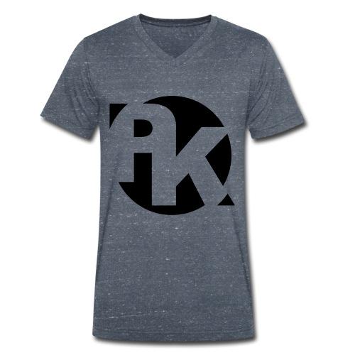 PK Logo 2 - Männer Bio-T-Shirt mit V-Ausschnitt von Stanley & Stella