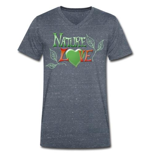 Nature Love - Männer Bio-T-Shirt mit V-Ausschnitt von Stanley & Stella
