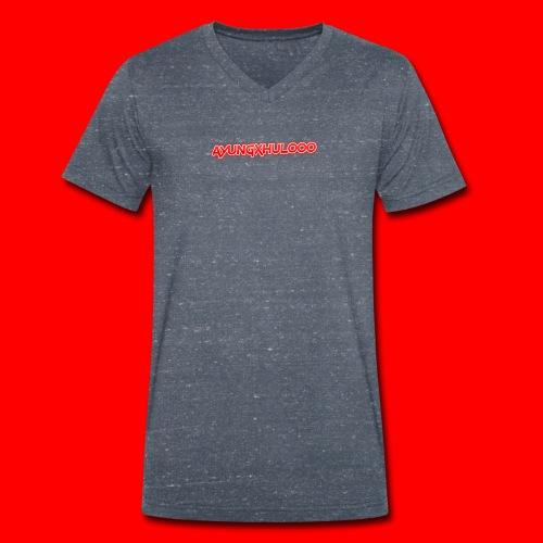AYungXhulooo - Neon Redd - Men's Organic V-Neck T-Shirt by Stanley & Stella