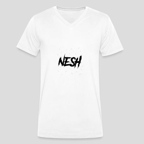 Nesh Logo - Männer Bio-T-Shirt mit V-Ausschnitt von Stanley & Stella