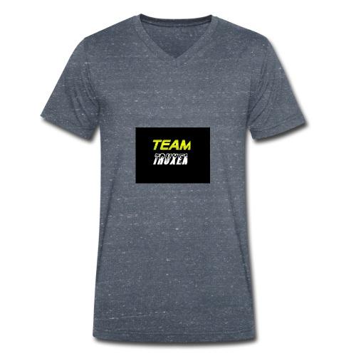 Truxenmerch - Ekologisk T-shirt med V-ringning herr från Stanley & Stella