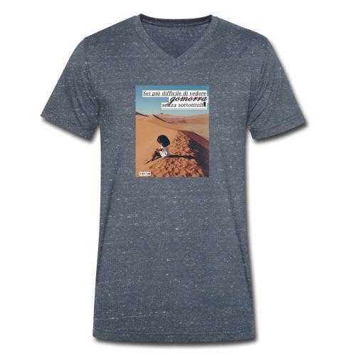 Gomorra Donna Uomo - T-shirt ecologica da uomo con scollo a V di Stanley & Stella