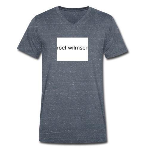 roel doet youtube - Mannen bio T-shirt met V-hals van Stanley & Stella