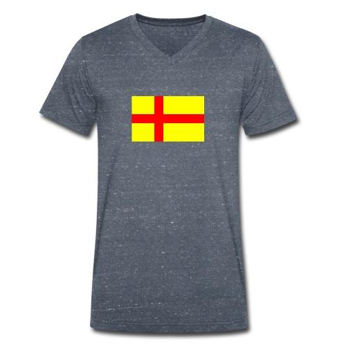 Rigens baner - Ekologisk T-shirt med V-ringning herr från Stanley & Stella