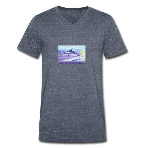 Angels of the Ocean - Männer Bio-T-Shirt mit V-Ausschnitt von Stanley & Stella
