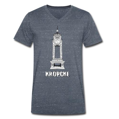Hannover Kröpcke Uhr - Männer Bio-T-Shirt mit V-Ausschnitt von Stanley & Stella