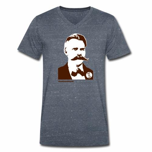 tryckfelsnietzsche_sås - Ekologisk T-shirt med V-ringning herr från Stanley & Stella