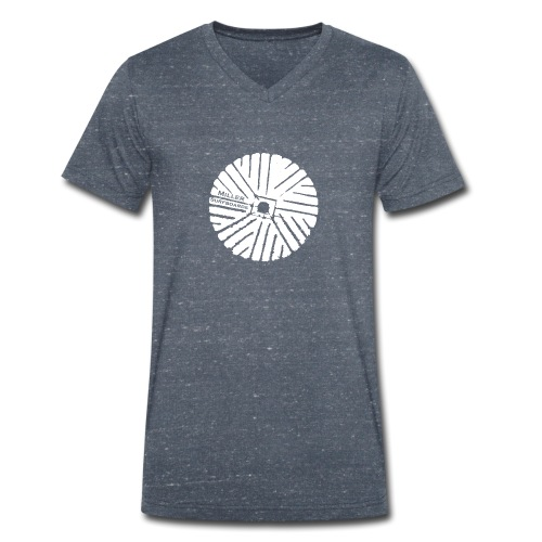 White chest logo sweat - Men's Organic V-Neck T-Shirt by Stanley & Stella