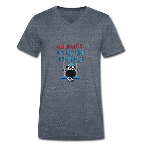 Mir reicht's - Männer Bio-T-Shirt mit V-Ausschnitt von Stanley & Stella