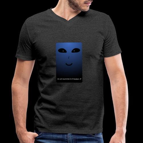 Frieden - Männer Bio-T-Shirt mit V-Ausschnitt von Stanley & Stella