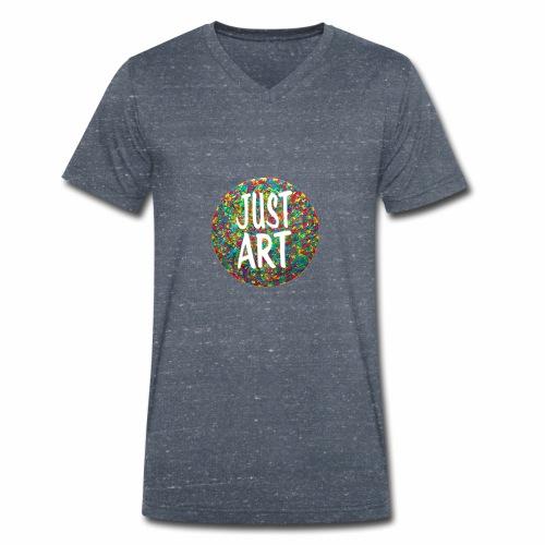 Kunst Edih Lassiat - Männer Bio-T-Shirt mit V-Ausschnitt von Stanley & Stella