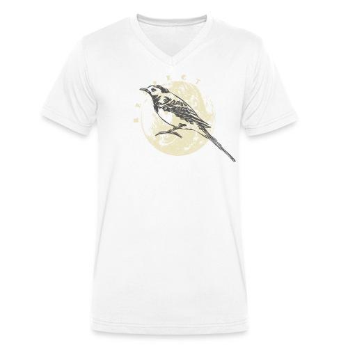 Respect bergeronnette - T-shirt bio col V Stanley & Stella Homme