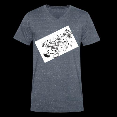 BunteKlänge Freak1 - Männer Bio-T-Shirt mit V-Ausschnitt von Stanley & Stella