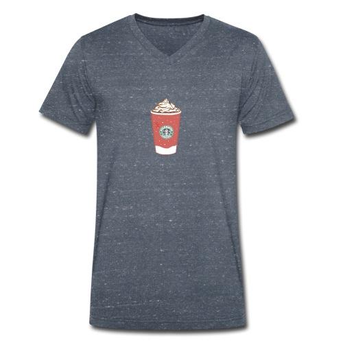 coffee - Men's Organic V-Neck T-Shirt by Stanley & Stella