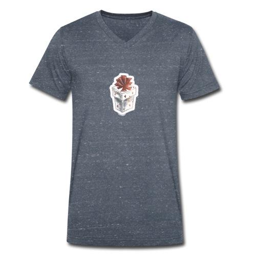Christmas present - Men's Organic V-Neck T-Shirt by Stanley & Stella