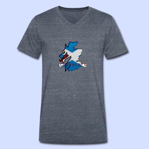 IndiScots logo - Men's Organic V-Neck T-Shirt by Stanley & Stella