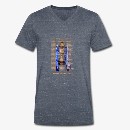 Montrose League Cup Tour - Men's Organic V-Neck T-Shirt by Stanley & Stella