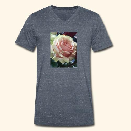 Roses - Männer Bio-T-Shirt mit V-Ausschnitt von Stanley & Stella