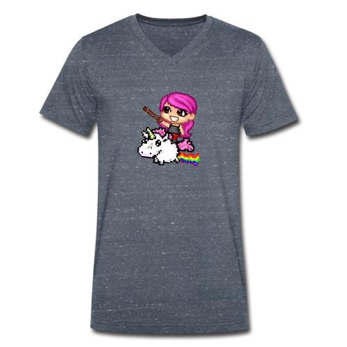 Subscriber - Mannen bio T-shirt met V-hals van Stanley & Stella