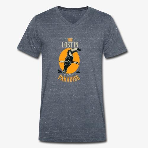 Oiseau - T-shirt bio col V Stanley & Stella Homme