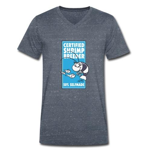 Das Prädikat für erfolgreiche Garnelenzüchter - Männer Bio-T-Shirt mit V-Ausschnitt von Stanley & Stella