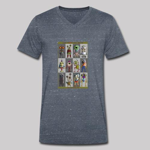 ALIEN TYPOLOGY TYPE 3: BIGEYES - T-shirt bio col V Stanley & Stella Homme