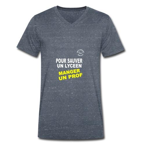 Save Lyceen - T-shirt bio col V Stanley & Stella Homme