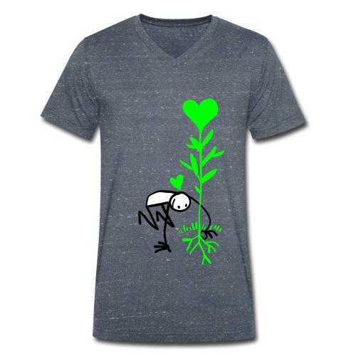 Planteur d espoir - Men's Organic V-Neck T-Shirt by Stanley & Stella