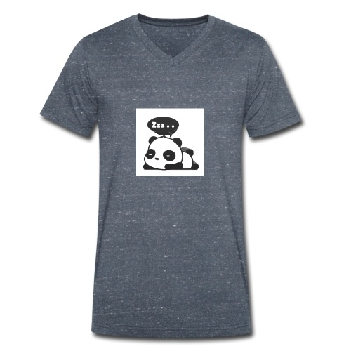 shinypandas - Men's Organic V-Neck T-Shirt by Stanley & Stella