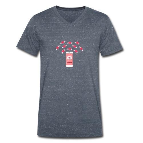 20190212 194802 - Økologisk T-skjorte med V-hals for menn fra Stanley & Stella