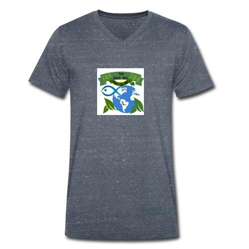 logo dumble baits - T-shirt bio col V Stanley & Stella Homme
