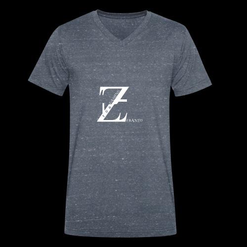 ZerantoLogo - Männer Bio-T-Shirt mit V-Ausschnitt von Stanley & Stella